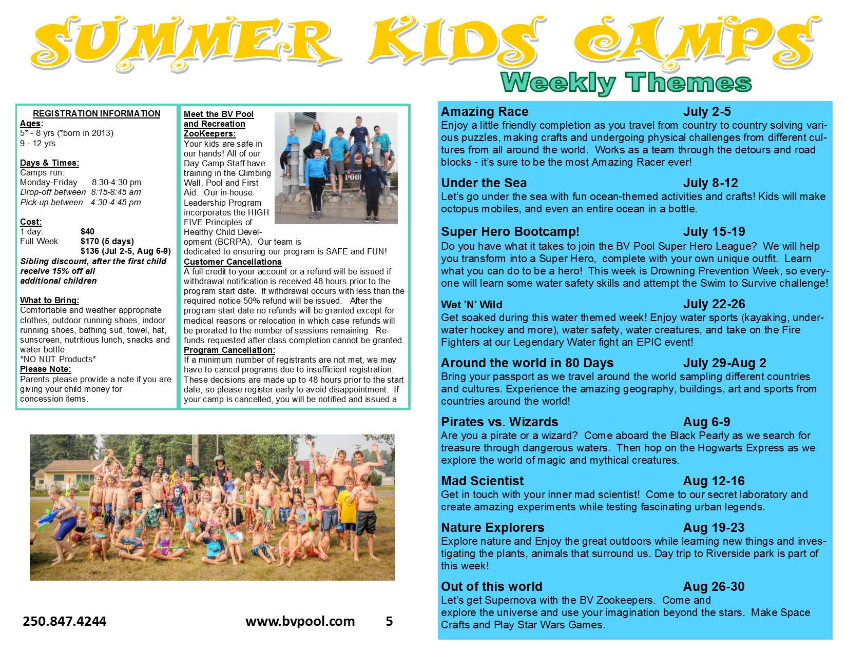 Summer Kids Camp 2019