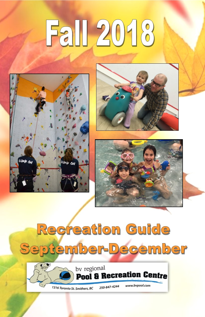 Fall Rec Guide 2018 front cover